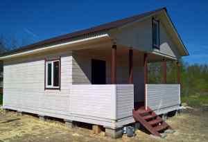 проект дома из профилированного бруса